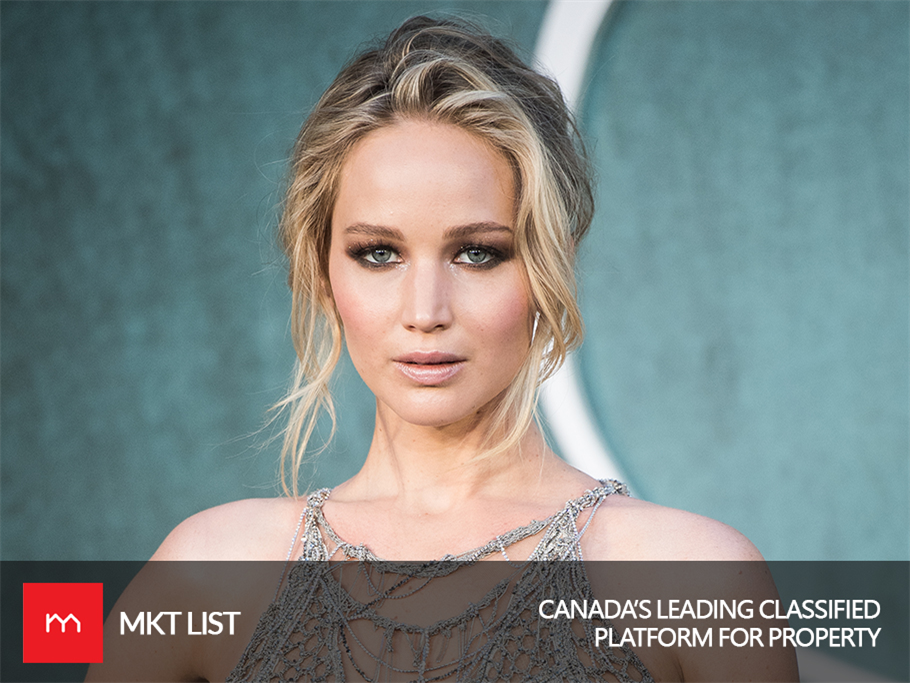 World's Highest Paid Actress, the One & Only Jennifer Lawrence, is Fishing the Real Estate Pond!