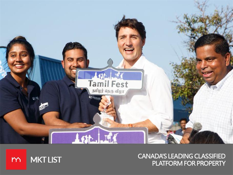 Live Update: Tamil wants Justin Trudeau!