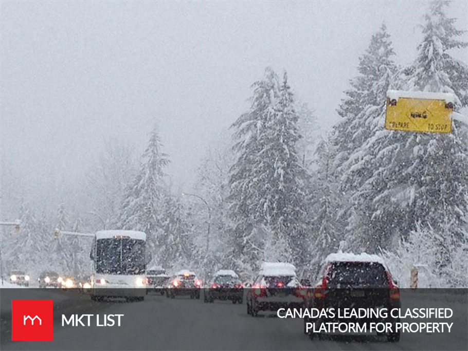 High Alert: Vancouver is Expecting a Snowfall of 15 cm on Sea-to-Sky Highway Tonight!