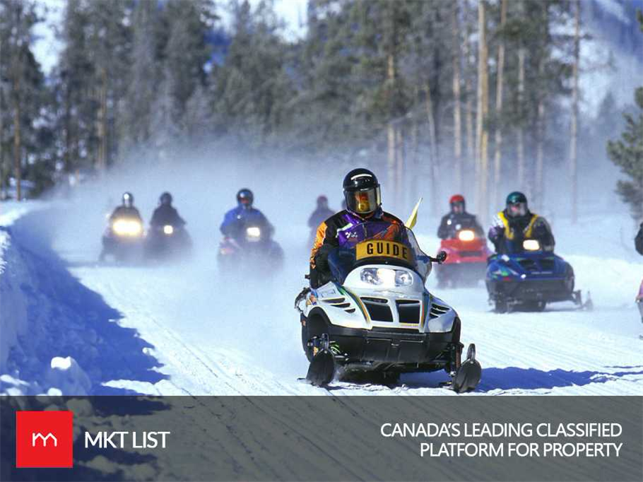 An Exciting Hill-Cross Snowmobiling Competition is Happening in Quebec – Hosted by Red Bull!