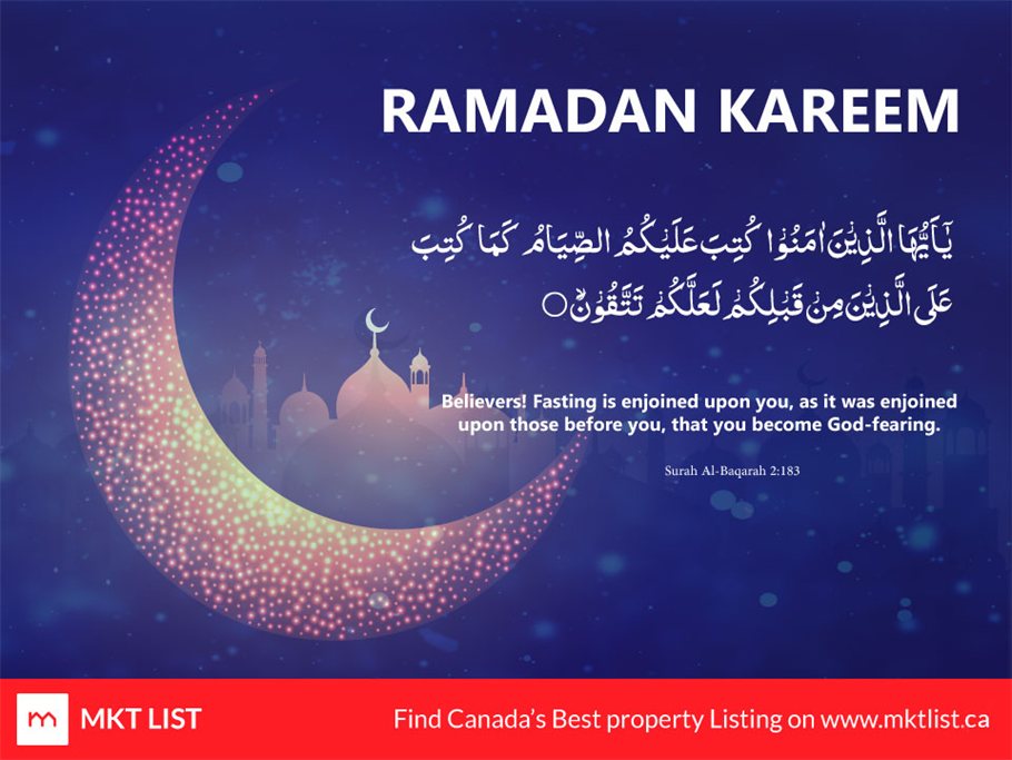 Ramadan: A Holy Month of Blessings for All the Muslims Around the Globe!