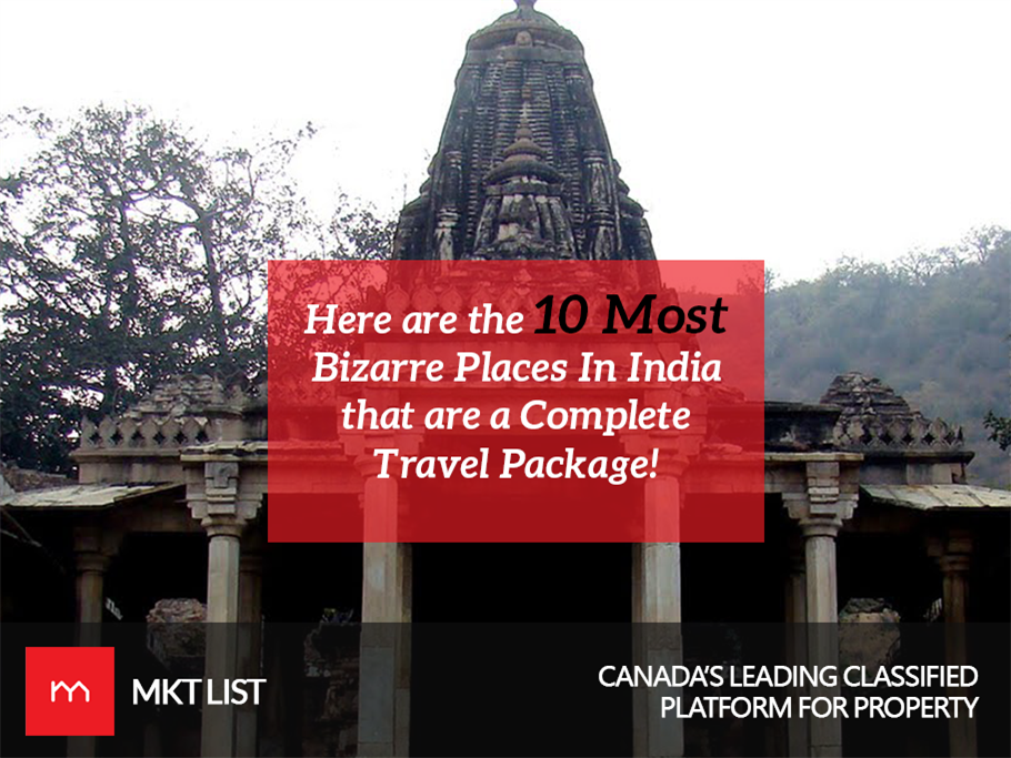 Here are the 10 Most Bizarre Places In India that are a Complete Travel Package!