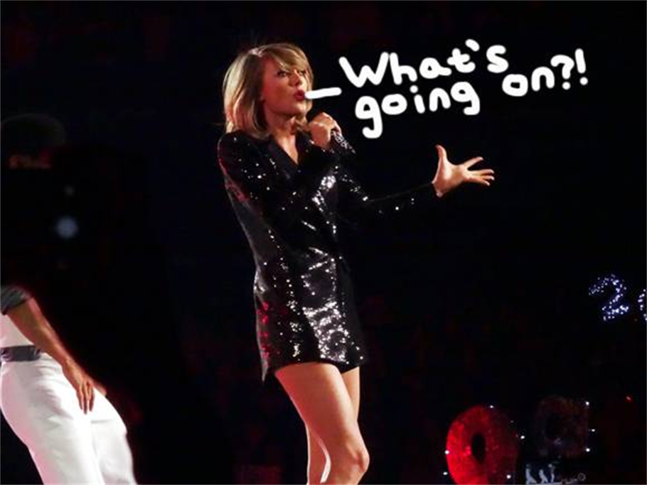 OOOPPPSS!Things Got Awkward for Taylor Swift!