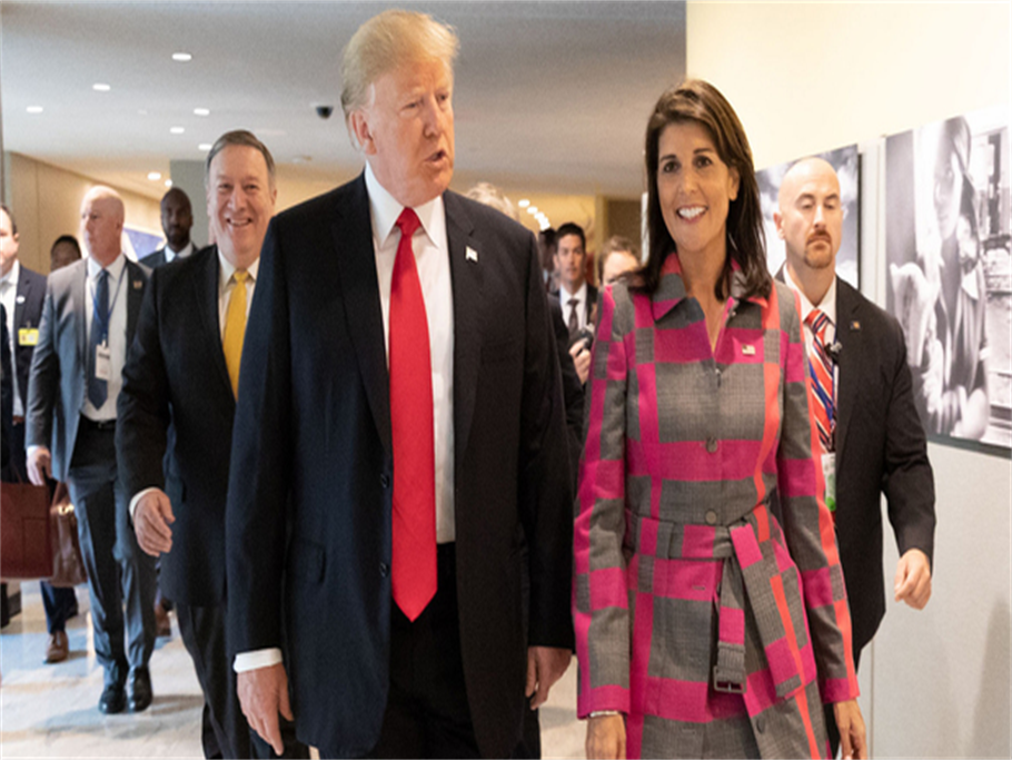 Trump in high hopes with a shortlist of 5 to replace Nikki Haley as UN ambassador!