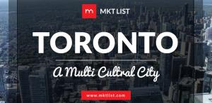 Toronto – A Multicultural City