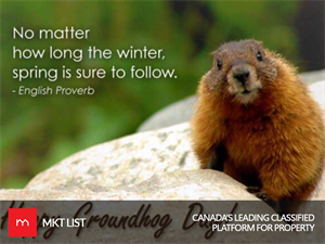 Groundhog Day in Canada!