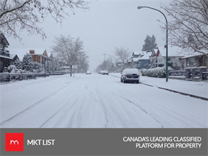 NEWS ALERT: SNOWFALL  ALARM GOES OFF IN  METRO VANCOUVER