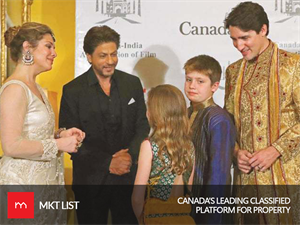 LIVE UPDATES - Superstar SRK Meets Justin Trudeau & Family!