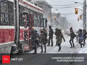 Weather Update Toronto: Hola! Winter is Again Here with Up To 10 cm of Snow Expected Today.
