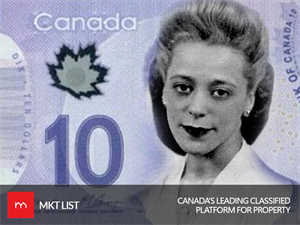 For-The-First-Time-In-Forever: Canada's $10 Bill Will Be Featuring a Picture of Canadian Woman!