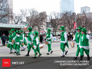 St. Patrick's Day: The Parade Is Here Again in Toronto With a Bang!