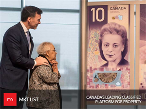 Bank of Canada: A Vertical $10 Bill. Wouldn't It Look Strange?