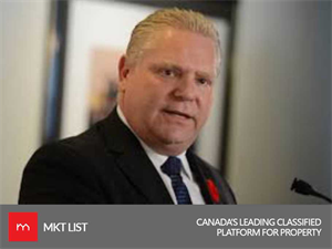 Doug Ford – Now a New Elected Body of Conservative Party of Ontario!