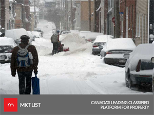 Weather Update: Snowfall Warning for Southern Quebec!