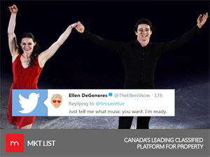 See Your Favorite Celebrity Couple Tessa and Scott on The Ellen Show This Month!
