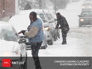 Weather Update : Calgary Under Threat Once Again, Snowfall Warning Issued!