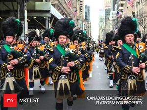 Good News: Enjoy St. Patrick's Day with Sunshine in Toronto!