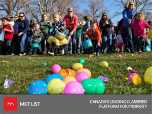 Open and Closed Areas in Ottawa during Easter Weekend 2018!