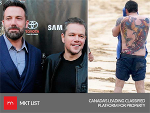 Matt Damon Hilariously Speaks About Ben Affleck's Tattoo & His Reaction is Unbelievable!