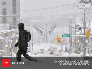 Weather Alert:Snow fall is Predicted in Toronto, Montreal this weekend!