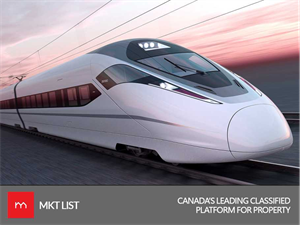 Canada, Ontario invested almost $11 billion on their first high speed rail project.