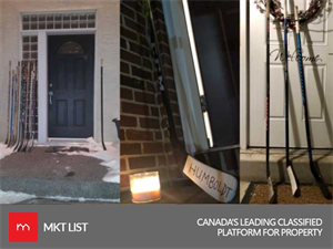 Canadians Support Victims of Humboldt Broncos: Paying Tribute by Leaving Hockey Sticks on Porches!