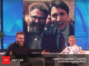 What's more Informal, Meeting Obama or Trudeau? Seth Rogen Tells Ellen!