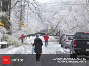 Weather Alert: Ice Storm to hit Toronto this Weekend!