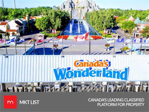 CANADA'S WONDERLAND OPENS THIS SUNDAY WITH TWO NEW ATTRACTIONS!
