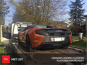 McLAREN CAUGHT GOING 40 KM/HR OVER THE SPEED LIMIT IN VANCOUVER SCHOOL ZONE