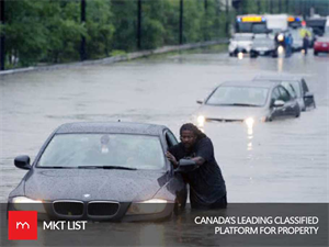 A SERIES OF WEAK DISTURBANCES THAT BRINGS RAINSTORM TO THE EASTERN CANADA
