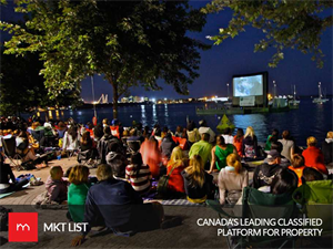 Good News: Torontonians Can Enjoy their Favorite Sail-In Cinema Again This Summer!