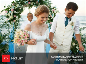 Obsessed with Marriage? Here's the List of Cities in Canada where Marriage-Minded People Exits!