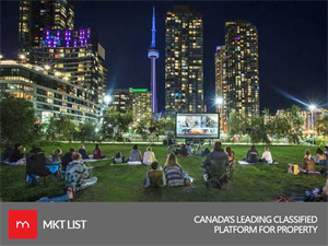 The Residents of Corktown Will Experience an Outdoor Screening this Summer!