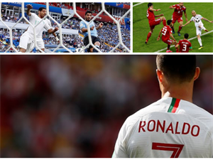 Ronaldo's Heroic's,Suarez Memorable 100th,Spain's 1st win sum's up Day 7 at FIFA World Cup 2018- Roundup