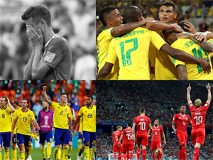 Germany Crash Out,Brazil Cruise In!!Enthralling Day 14 At FIFA World Cup 2018!