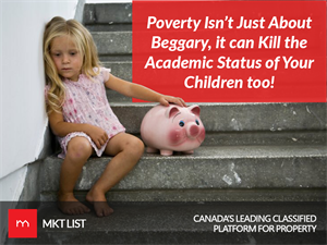 Poverty Isn't Just About Beggary, it can Kill the Academic Status of Your Children too!