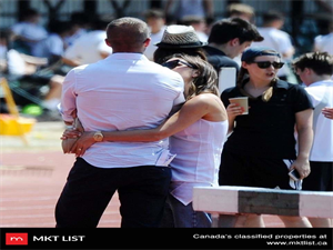 EXCLUSIVE: Brushing off their Divorce Rumors, David and Victoria Beckham were seen extremely affectionate at School Sports Day in London on their 19th wedding anniversary!