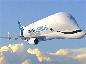 Airbus 'Beluga Whale' Successfully Took its First Flight!