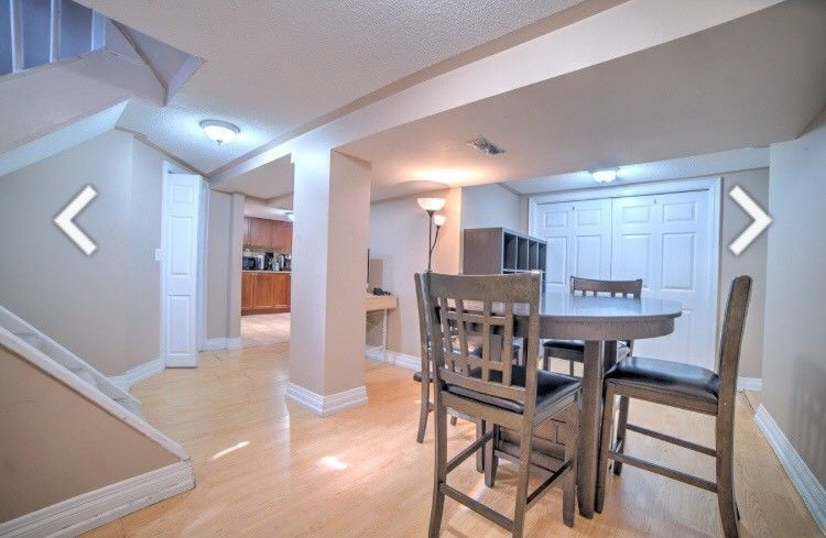 2 Bedroom Basement Apartment located in Lawrence ave