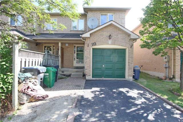 Stunning 3 B/R T/House With Fin Bsm at Hurontario/Steeles