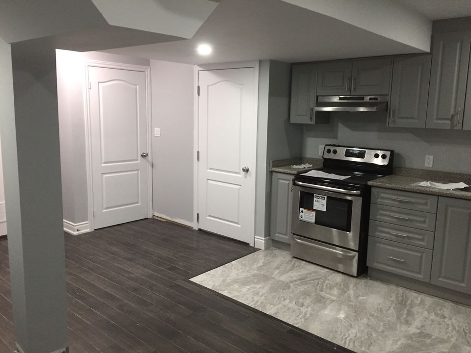 Two bedroom brand new legal basement available for rent