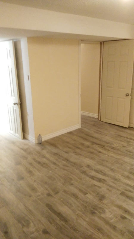 Brand new 2 Bedrooms basement apartment