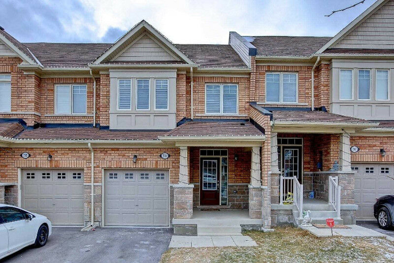 Beautiful 3 Bedroom Freehold Townhome In The Most Demand Area