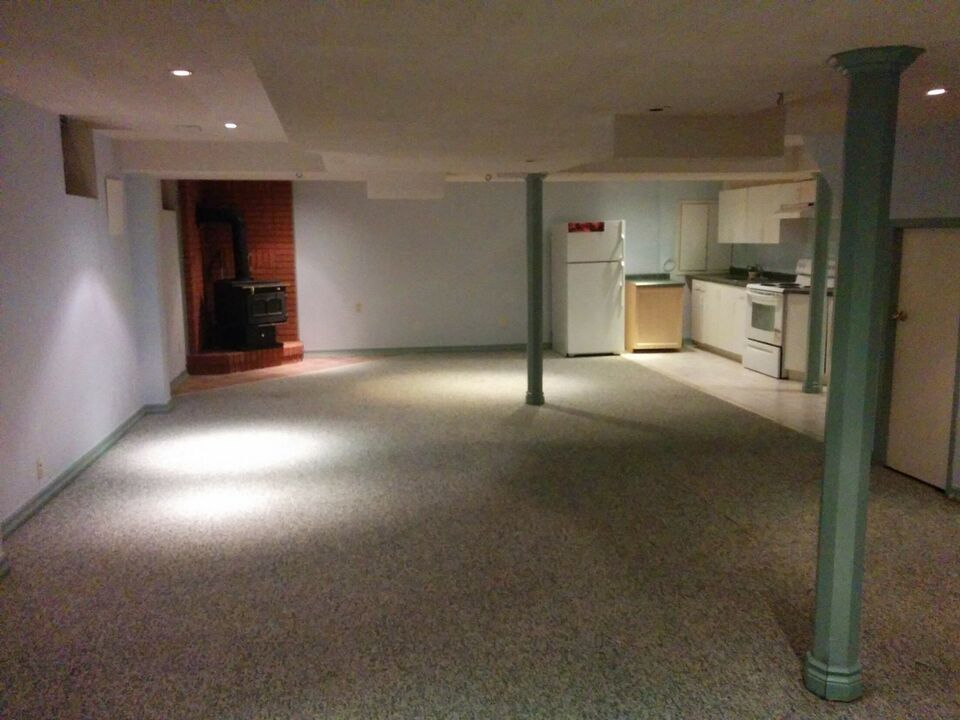 Basement for rent near Humber college-123;