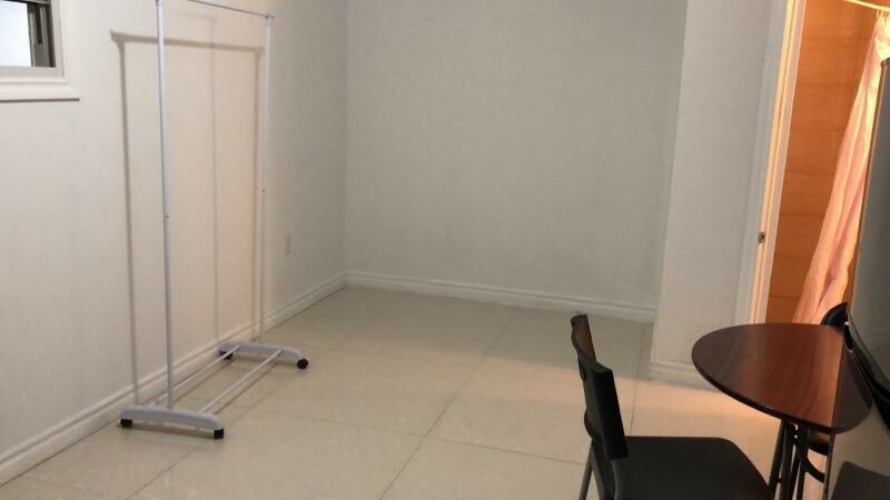 Basement large bachelor apt available now at dundas and spadina