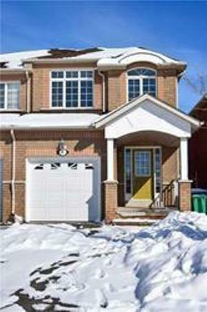 Upgraded All Brick Semi-Detached 3 Bed & 4 Bath House Location