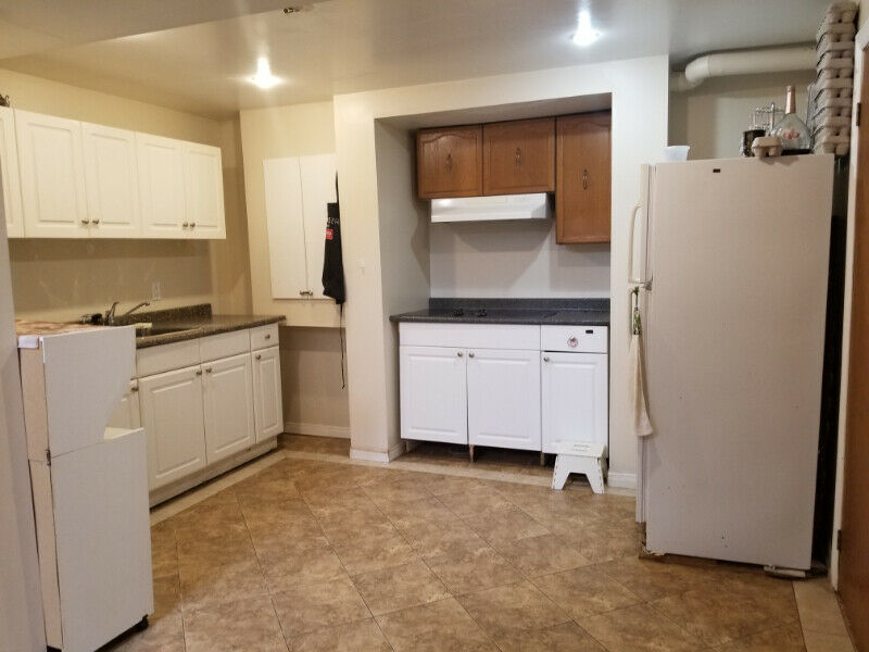ONE Bedroom Basement For Rent: Occupancy First week of June.