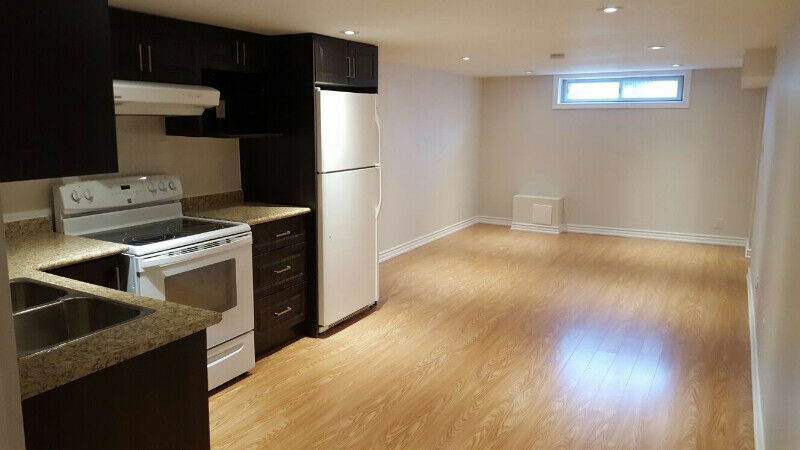 1 Bedroom newly renovated basement apartment -Available Aug 01
