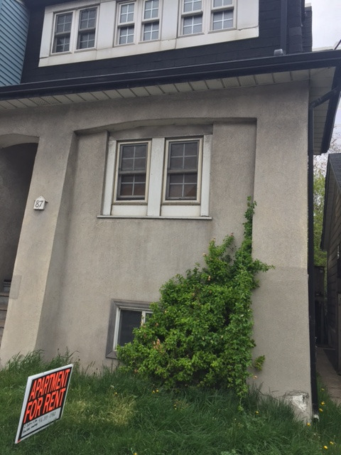 $1900/month + hydro. Two bdrm + den main floor of house